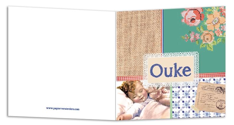 Geboortekaarten Ouke