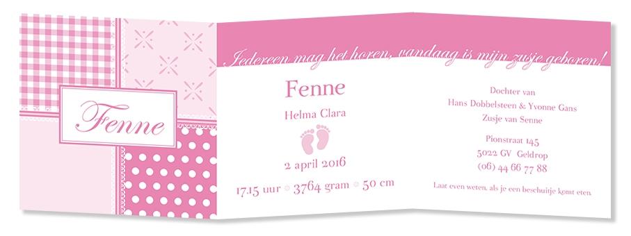 Geboortekaarten Fenne-2