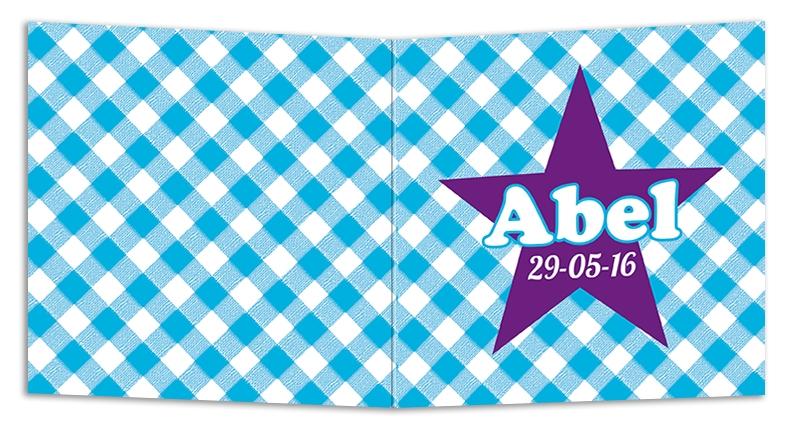 Geboortekaarten Abel