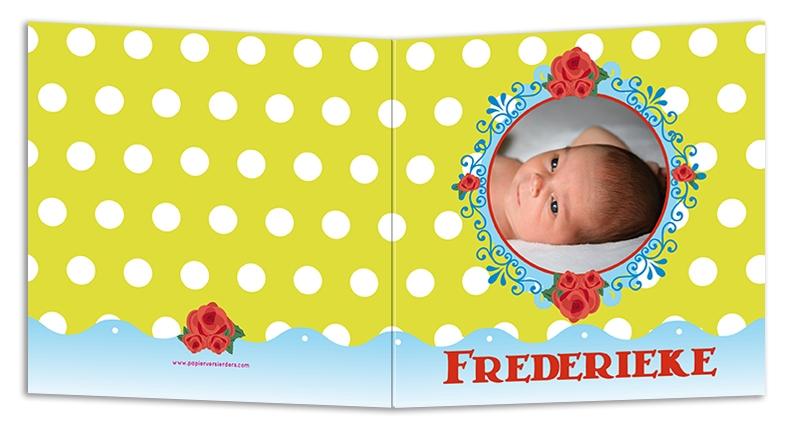 Geboortekaarten Frederique