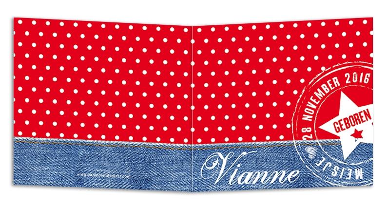 Geboortekaarten Vianne