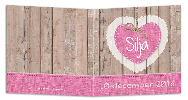 Geboortekaarten Silja