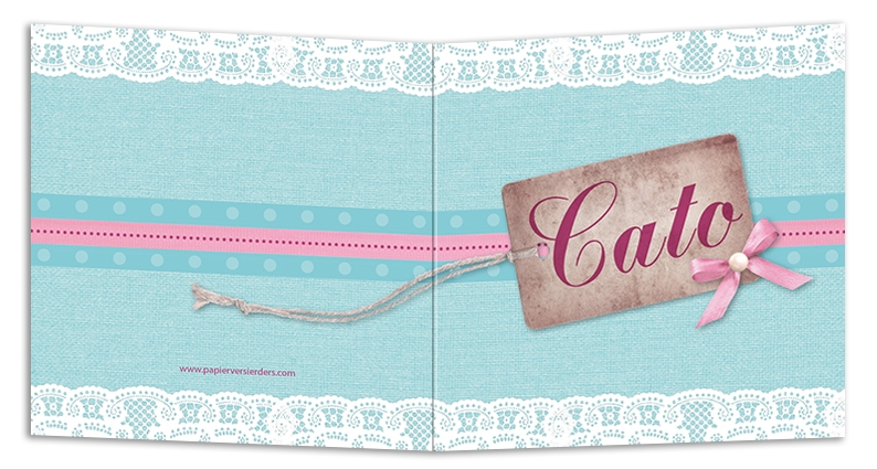 Geboortekaarten Cato