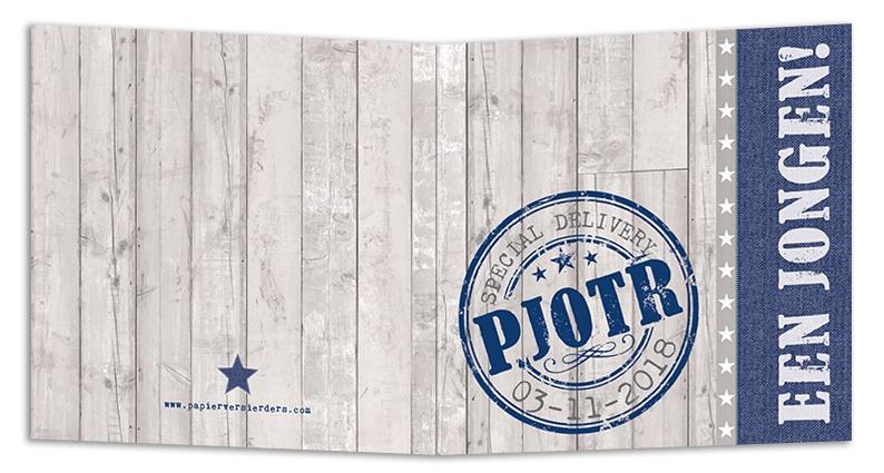 Geboortekaarten Pjotr