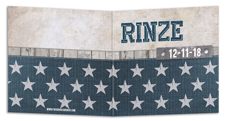 Geboortekaarten Rinze