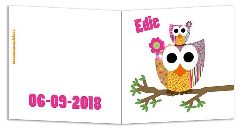 Geboortekaarten Edie