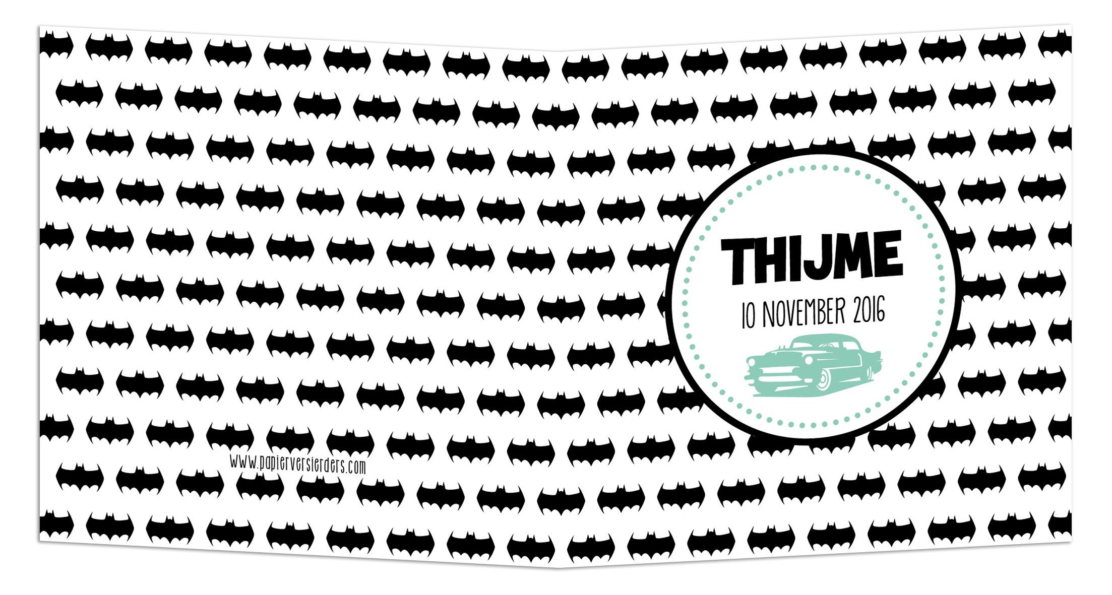 Geboortekaarten Thijme