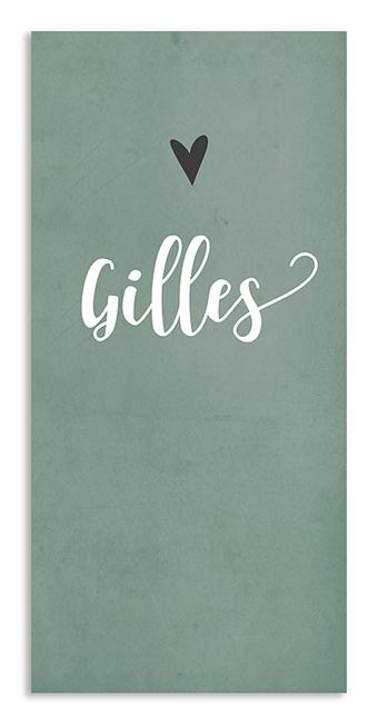 Geboortekaarten Gilles