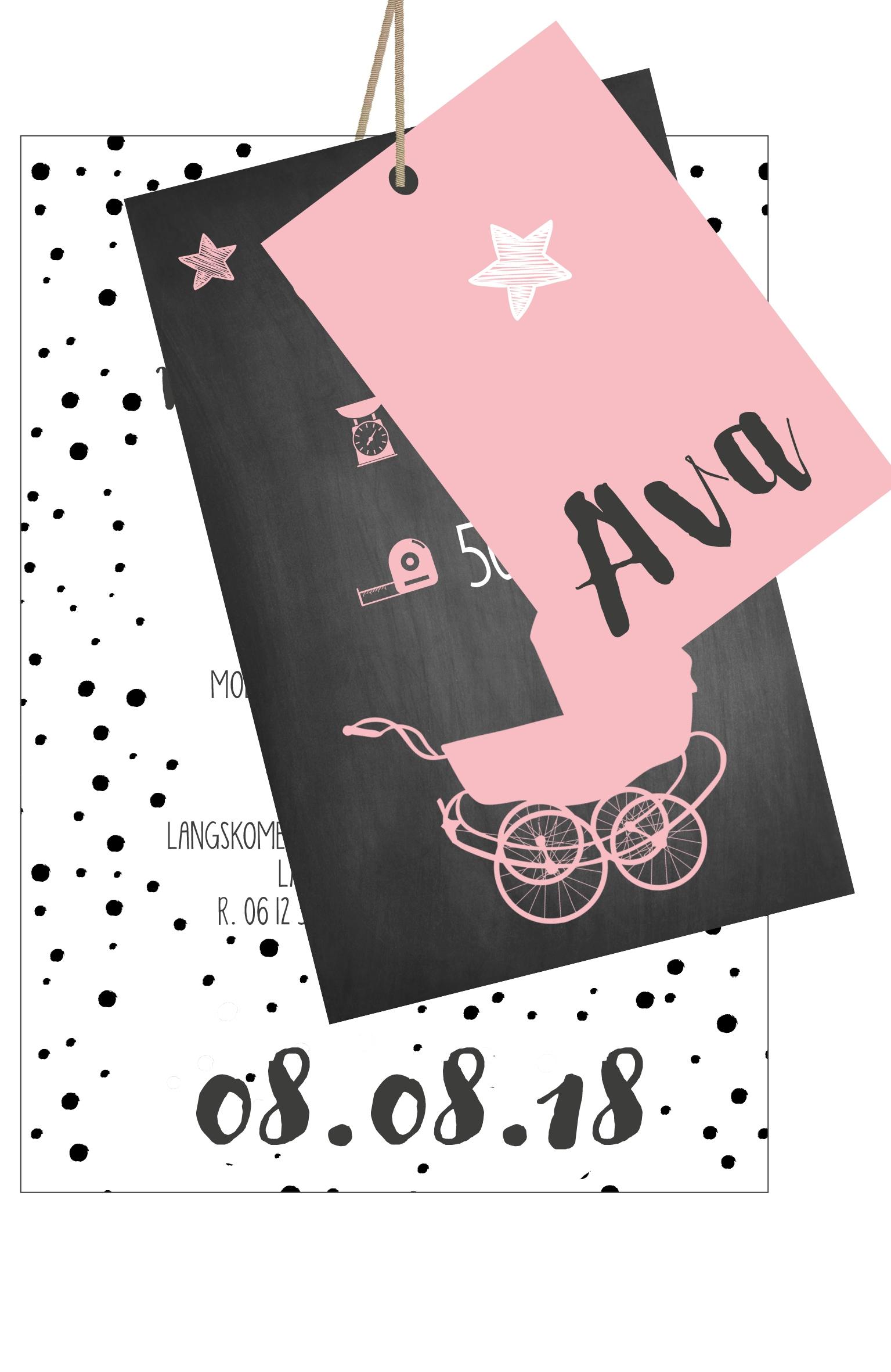 Geboortekaarten Ava