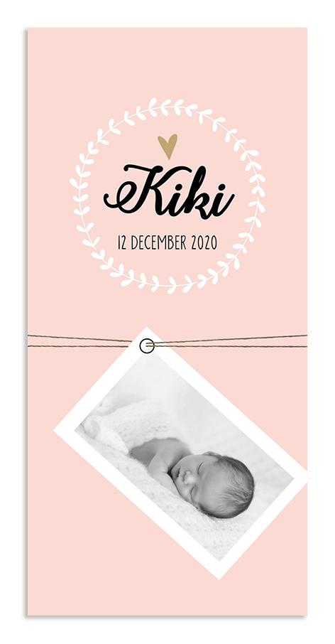 Geboortekaarten Kiki