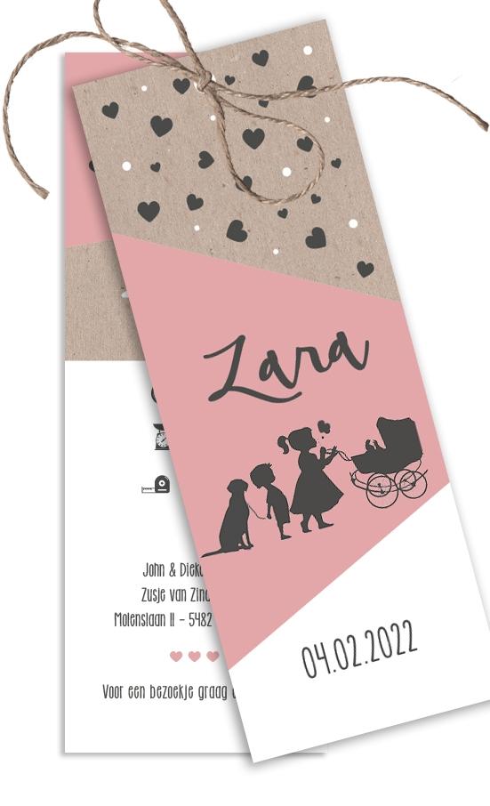 Geboortekaarten Zara