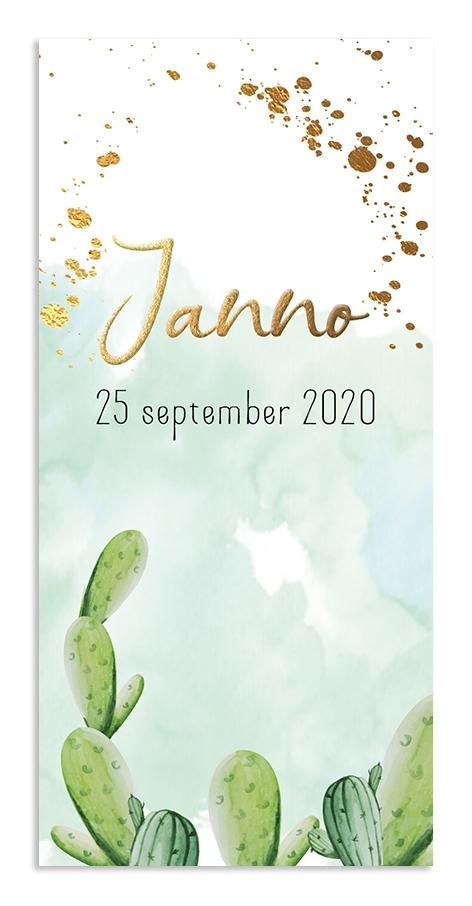 Geboortekaarten Janno