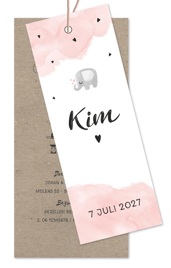 Geboortekaarten Kim