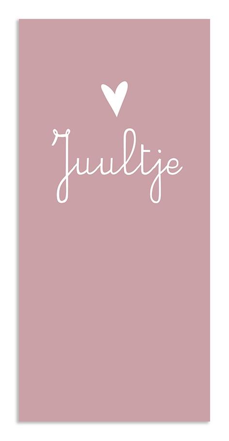 Geboortekaarten Juultje