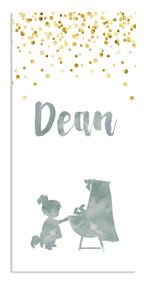 Geboortekaarten Dean