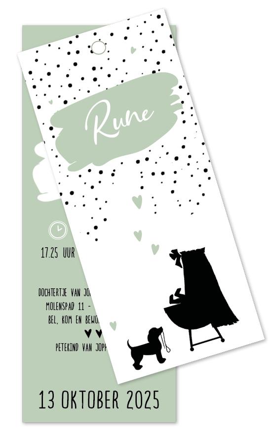Geboortekaarten Rune