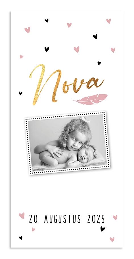 Geboortekaarten Nova