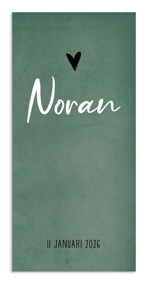 Geboortekaarten Noran