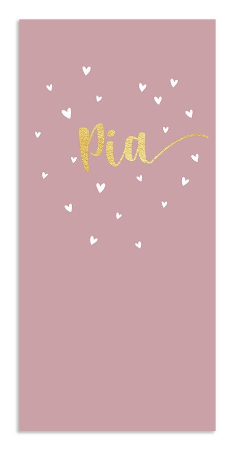 Geboortekaarten Pia