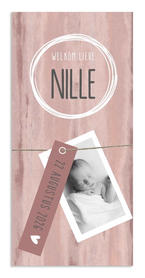 Geboortekaarten Nille