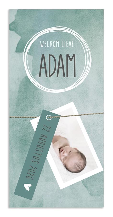 Geboortekaarten Adam