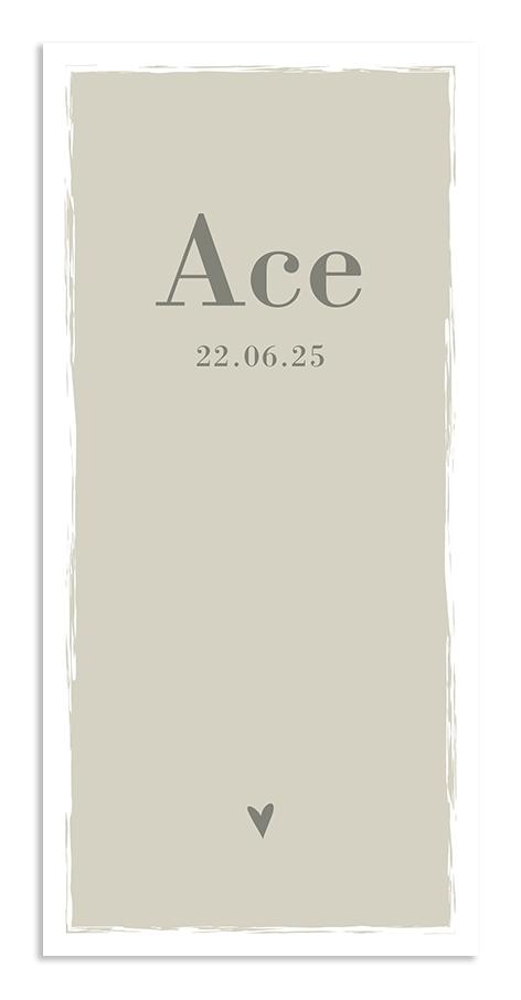 Geboortekaarten Ace