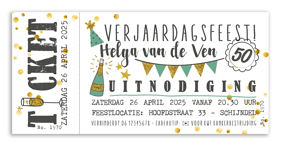 Feestkaarten Verjaardag