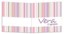 Geboortekaarten Vera