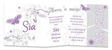 Geboortekaarten Sia