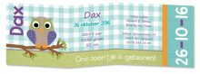 Geboortekaarten Dax-3