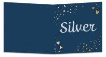 Geboortekaarten Silver