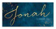 Geboortekaarten Jonah